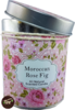 Duftkerze 7,5 cm moroccan rose & fig
