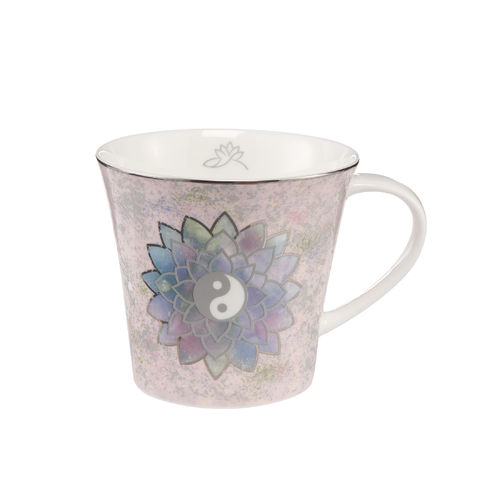 Lotusblüte Rosé Fine Bone China 0,35l