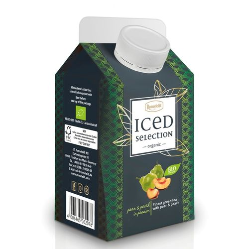 Iced Selection Green Pear&Peach Bio